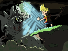 Lucas VS The Lich by TheTitan99
