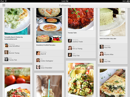 Pinterest ipad Design by DParwal