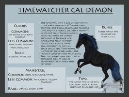 Timewatcher Breed Sheet by RejectAll-American
