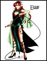 commission - The Cult: Ellif by UNIesque