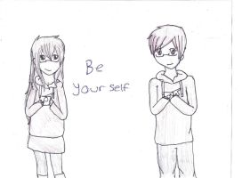 Be Yourself by pottergal101