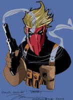 Jim Lee - Grifter :Color by Poorboy-Comics