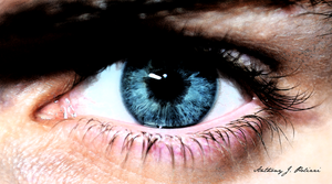 Look into my eyes, what do you see? by PolizziGraphics
