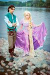 Rapunzel and Flynn 1 by Usagi-Tsukino-krv