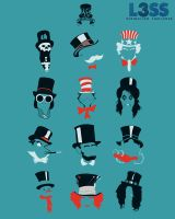 Top Hat Collection 2.0 by credesign
