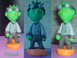 Clay Toad Chibi by PaddysDemon