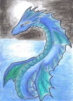 Aquarius Dragon by MemoryInTime