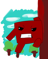 Super Meat Boy by crocty