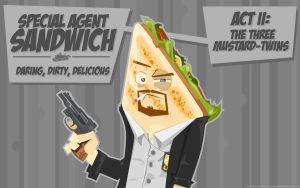 Special Agent Sandwich by pan10