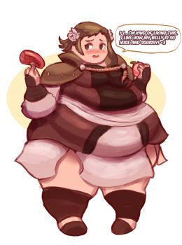 Fat Mozu - Fire Emblem Fates WG by Plumpchu