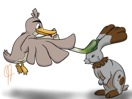 Trading: Angus for Quacklin' by NautilusMarby