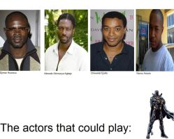 The actors that could play: Black Panther by SteveIrwinFan96