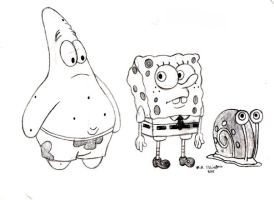 Spongebob Squarepants by Yakkomia