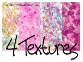 4 textures stock by Ecathe