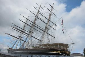 LONDON - Greenwich ship by elodie50a