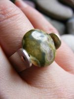 Agate Ring by MoonLitCreations