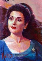 Troi sketch by charles-hall