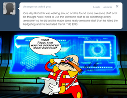 Ask Dr. Robotnik 34 by FractiousLemon