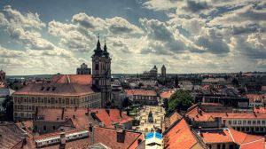 Eger view - Dobo square by hans64-kjz