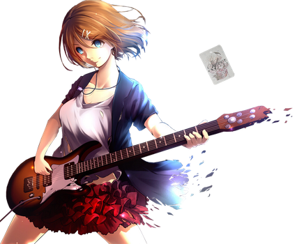 Render: Rin Kagamine by Mikeiry