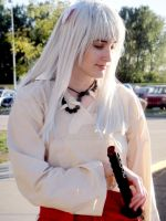 Inuyasha, Contemplative by ebjeebies
