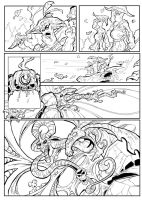 Inks page 2 Prolouge issue by bearcavestudios