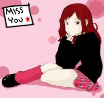 miss you ._. by asuchan