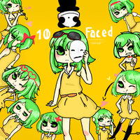 how I became the GUMI bunch by PokemonSatomi