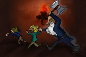 Running scared by Gundambaby