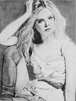 Elle Fanning by willowcharcoal