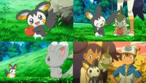 Pokemon BW: Emolga Screenshots by RaijinSenshi
