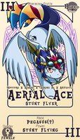 Character Card : Aerial Ace by vavacung