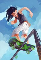 Skater Boy by Nacre-Headphones