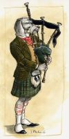 the bagpiper... by cidaq