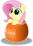 Vector Fluttershy cookies by KyssS90