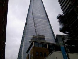 The Shard photograph 2 by WhippetWild