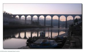 Calstock Viaduct by infiltrator