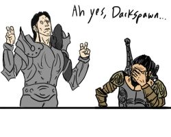 Ah yes, Darkspawn by soccerdemon