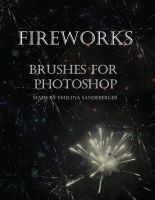 FIREWORKS - 6 different  brushes for photoshop by EmelinaS