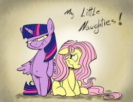 My Little Naughties: October Special Commissions by Pimander1446