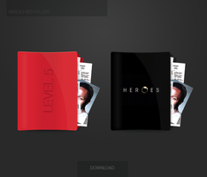 Heroes Red Folder by Soundy