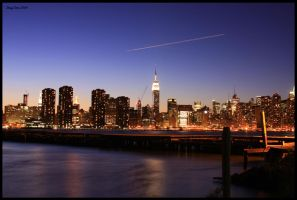 NYC From Greeenpoint Pier by Inno68