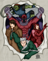 Brotherhood of Evil Mutants by Blackmoonrose13