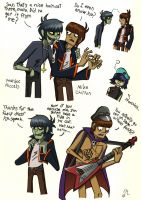 Mike and Murdoc-doodles by Piddies0709