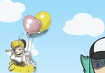Big Balloons by Rkdailey