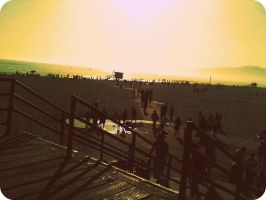 Another Day On The Beach by Noora7at