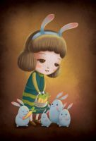 Feed the Bunnies by boOnsai