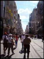 Istiklal Avenue by nabed