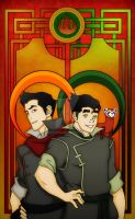 Bolin, Mako and Pabu by Nortiker