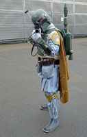 Boba Fett Cosplay  at The NSC (2) by masimage